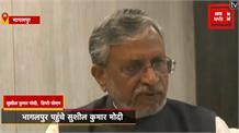 उपमुख्यमंत्री सुशील मोदी ने की प्रेसवार्ता,कहा- स्याही फेंकना है हिंसक प्रवृति