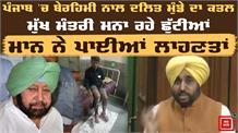 Bhagwant Mann ने संसद में उठाया दलित लड़के के कत्ल का मुद्दा, Captain को डालीं लानतें