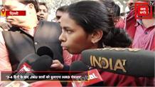 HRD मंत्रालय की कमेटी से मिले JNU छात्र, कहा- जब तक मांगे पूरी नहीं होंगी जारी रहेगा प्रदर्शन