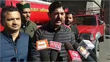 शिमला डीसी कार्यालय के बाहर यूथ कांग्रेस का धरना प्रदर्शन:live