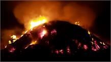 जुर्माना और FIR से बेखौफ होकर पराली जला रहे किसान, 1057 Active fire location आयी सामने