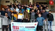हमीरपुर में युवाओं को नशा मुक्त रखने के लिए दिलाई शपथ