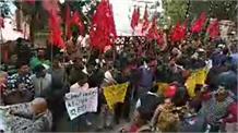 सीटू के बैनर तले तहबजारियों का डीसी कार्यालय शिमला के बाहर धरना…