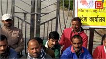 अरनी यूनिवर्सिटी के स्टाफ की हड़ताल का 41वां दिन, मेन गेट पर जड़ा ताला