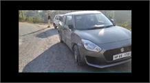 सुंदरनगर में एनएच 21 पर दो कारों में आमने-सामने जबरदस्त टक्कर