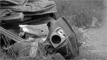 तेज रफ्तार Truck ने Bike और Auto को मारी टक्कर, हादसे में दो की मौत, एक घायल