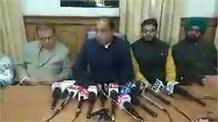 सुनिए विपक्ष के वाकआउट पर क्या बोले मुख्यमंत्री जयराम ठाकुर