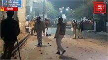 बाहरी नशेड़ी छात्रों ने लगाई बसों में आग - जामिया छात्र