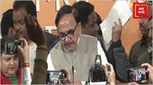 बीजेपी में शामिल हुए कई दलों के नेता, महेंद्रनाथ बोले- 'मोदी को रोकने के लिए बन रहा ठगबंधन'