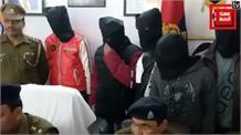 संभल में दिल्ली के शातिर नासिर गैंग का भंडाफोड़, 6 बदमाश गिरफ्तार