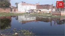 NH-2 के निर्माण कार्य से गंदे पानी में तबदील हुआ भदोही…
