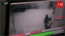 बंदूक की नोक पर व्यापारी से लाखों की लूट, CCTV में कैद बदमाशों की तस्वीरें