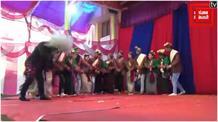 माघ मेलाः किन्नौरी और टकनोर नृत्य से कलाकारों ने बांधा समा, झूम उठे दर्शक