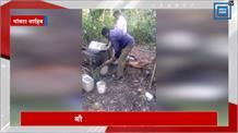 जाम्बुखला के जंगल में छापामारी, कई लीटर लाहन और भट्ठियां की नष्ट