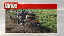 सड़क हादसे में एक परिवार के 6 लोगों की मौत, ऑटो को डंपर ने मारी टक्कर