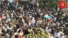 मसौढ़ी में शहीद संजय की अंतिम यात्रा में उमड़ा जन सैलाब
