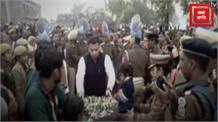Pulwama Terror attack: कन्नौज के लाल शहीद प्रदीप सिंह को बेटी ने नम आंखों से दी आखिरी सलामी