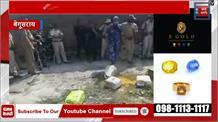 पुलिस ने शराब कारोबारियों के अड्डे पर मारा छापा, 8 हजार लीटर शराब की नष्ट