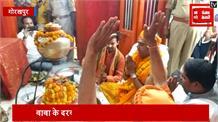 नामांकन से पहले रवि किशन ने गोरखपुर मंदिर में की पूजा अर्चना, जीत का किया दावा