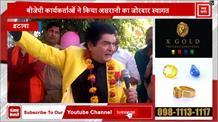 इटावा पहुंचे फिल्म कलाकार असरानी, फिल्म के डायलॉग सुनाकर BJP प्रत्याशी के लिए मांगे वोट