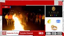 BJP में उठे विरोध के सुर, कार्यकर्ताओं ने अपने ही नेताओं के जलाए पुतले