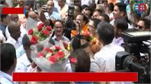 सांसद बनने के बाद रमेश पोखरियाल निशंक पहुंचे देहरादून, कार्यकर्ताओं ने किया जोरदार स्वागत
