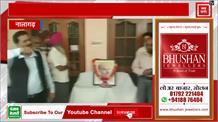 New India , बीजेपी नेता ने  जूते  पहनकर दी श्यामा प्रसाद मुखर्जी  को श्रद्धांजलि