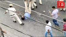 पुलिस ने बीच सड़क पर की टेंपो सिख चालक की पिटाई, 3 निलंबित