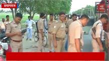 प्रयागराज में ताबड़तोड़ फायरिंग, लूट की घटना को अंजाम देकर बदमाश फरार