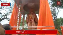 राजभवन में स्वामी विवेकानंद की प्रतिमा का अनावरण,  योगी ने कहा- महान नहीं महानतम थे विवेकानंद