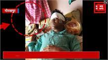 पुलिसकर्मियों पर पशु तस्करों ने किया पथराव, करतूत CCTV में कैद
