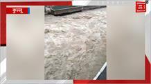 भारी बारिश से पार्वती नदी ने लिया रौंद्र रूप