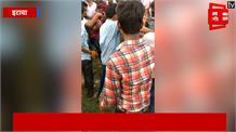बकरी चरा रही बच्ची के बकरी छीन कर भाग रहे थे चोर, भीड़ ने जमकर पीटा