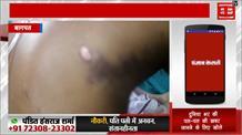 योगी राज में साधु की पिटाई, 4 बदमाशों ने मंदिर में घुसकर पीटा