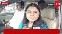 सुल्तानपुर में मेनका गांधी का हमला, 'कश्मीर के हालात बिगाड़ने जा रहे हैं राहुल गांधी'