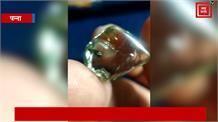 पन्ना में एक और बेशकीमती हीरा मिलने से खिले चेहरे, पट्टाधारक की चमकी किस्मत