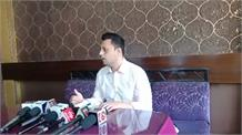 कांग्रेस महासचिव आश्रय शर्मा की प्रेस वार्ता