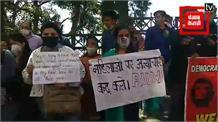 Live: हाथरस गैंग रेप घटना को लेकर शिमला के लोगों में रोष