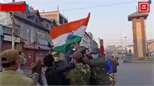 श्रीनगर लाल चौक में तिरंगा लहराने पहुंचे एबीवीपी कार्यकर्ता गिरफ्तार