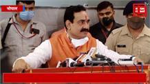 बिसाहूलाल के विवादित बयान पर बोले गृहमंत्री नरोत्तम मिश्रा, मैंने नहीं सुना उन्होंने क्या बोला