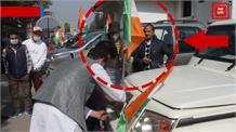 तिरंगा यात्रा के नाम पर राष्ट्र ध्वज का अपमान क्यों?... सोफी यूसुफ की गाड़ी में लगा था उल्टा तिरंगा