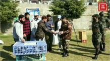 बारामुला में आर्मी ने आयोजित किया कबूतरबाजी का खेल... 20 प्रतिभागियों ने लिया हिस्सा