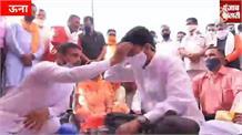 Una में Anurag Thakur, देखिए जनता को दिया क्या तोहफा...