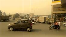 Faridabad के गुडइयर चौक पर होमगार्ड पर Fairing, चालान काटते वक्त युवकों ने मारी गोली