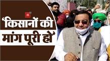 AAP राज्यसभा सांसद सुशील गुप्ता ने टिकरी बॉर्डर जाकर किसानों से की मुलाकात, कहा- मांग पूरी कर सरकार