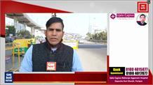 Badarpur border में हालात सामान्य, यातायात में नहीं आ रही परेशानी