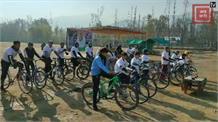 अनंतनाग में कवि रसूल मीर की याद में साइकिल रेस... 25 प्रतिभागियों ने लिया हिस्सा