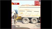 नरेला बॉर्डर पर किसान आंदोलन को रोकने के लिए अर्ध-सैनिक बल तैनात