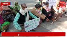 दिल्ली की राह पर ग्वालियर के किसान, काले कानून के खिलाफ किया चक्का जाम