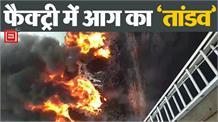 Factory में लगी भीषण आग, मौके पर पहुंची दमकल की गाड़ियां
